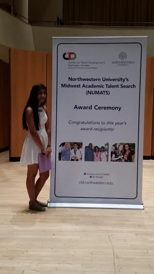 Ruchita Coomar attends the NUMATS Award Ceremony
