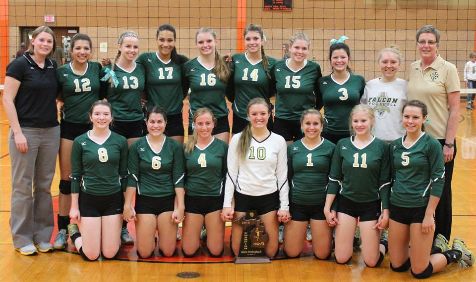 SMCC Volleyball District Champions