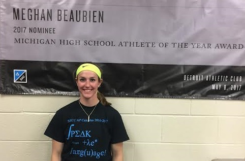 Meghan Beaubien Named Detroit Athletic Club MI Athlete of the Year